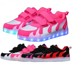 Outdoor Cool Light Sport Lace-up Sneaker for Kids