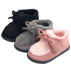 Girl's Winter Cotton Warm Soft Sole Shoes Boots