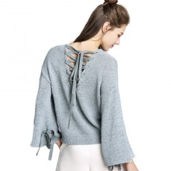 Women'SSweater V-Neck Loose Cardigan