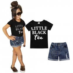 Baby Girl Cloth Summer Tee Plus Short Pants