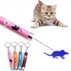 Creative Pet Cat Toys Puntero láser LED